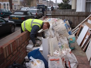 Removing builders waste Tottenham N17