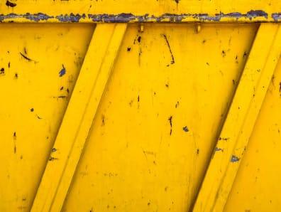Yellow skip panel